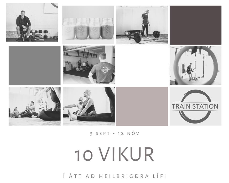 10 vikur – átak í átt að heilbrigðara lífi